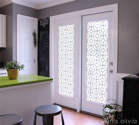 window coverings for patio door owen s custom window treatments using pvc