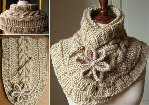 free knitting pattern for a scarf wonderful diy knitted cowl scarf with free pattern