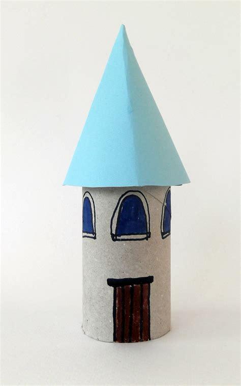 toilet paper roll castle craft craftsboom princess castle