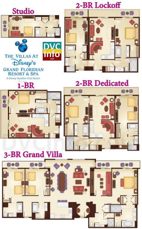 grand floridian floor plan the villas at disney s grand floridian resort spa