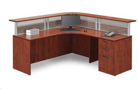 l shaped receptionist desk new l shaped office desk w reception counter