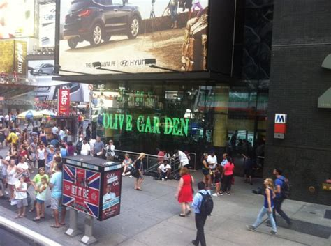 aussenansicht picture of olive garden new york city tripadvisor