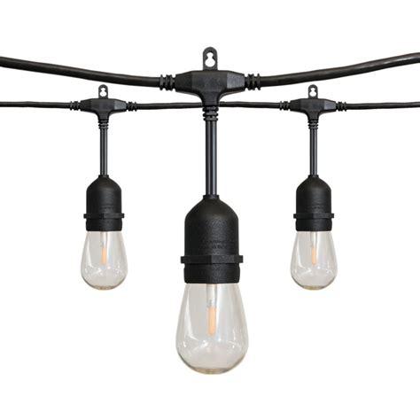 outdoor string lights home depot 24 ft 12 light led string light 10295 the home depot