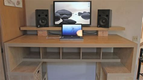 how to build an office desk biurko â statek kosmicznyâ zbudowane z p 243 å ek z ikei giznet pl