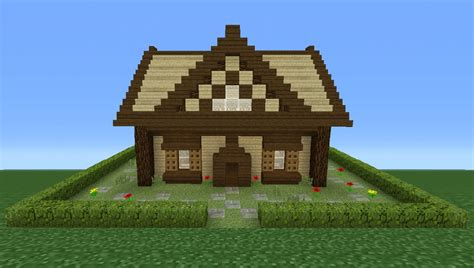 how to make a small house minecraft tutorial how to make a small wooden cabin 2