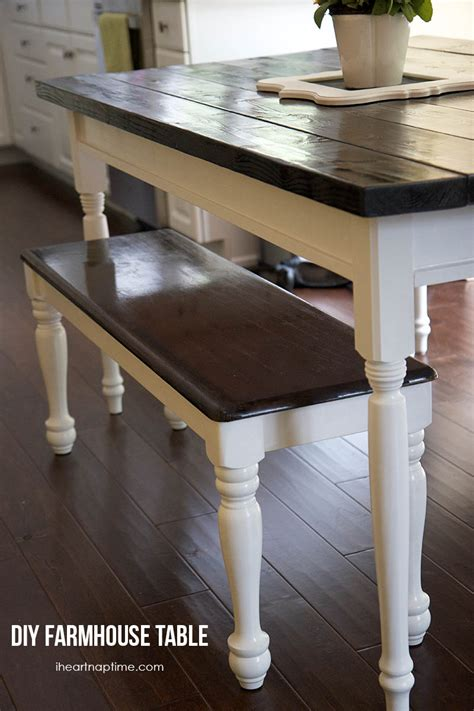 diy small kitchen table diy farmhouse kitchen table i nap time