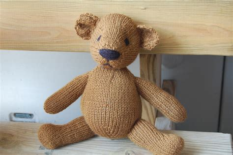 knit teddy teddy bears mad knitting
