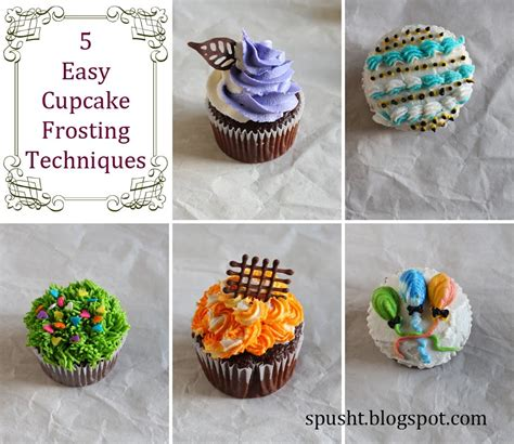 icing decorations for cupcakes 5 easy cupcake decoration ideas icing cupcakes cupcake