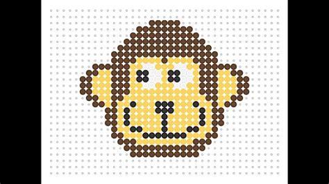 the bead monkey hama bead monkey animal series 2 5
