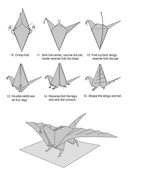 how to make a origami wolf step by step how to make a origami easy