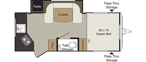passport travel trailer floor plans passport travel trailer floor plans passport 2300bh bunk