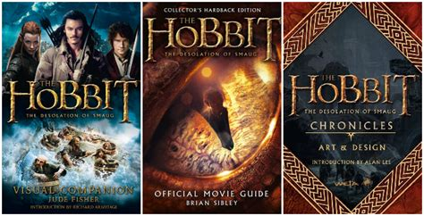 the hobbit picture book review the hobbit the desolation of smaug companion books