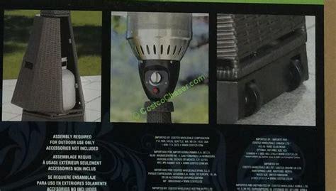 kirkland signature patio heater patio heater costco 50 images steel frame canopy