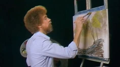 tv programm bob ross painting here s why twitch is bob ross the of painting