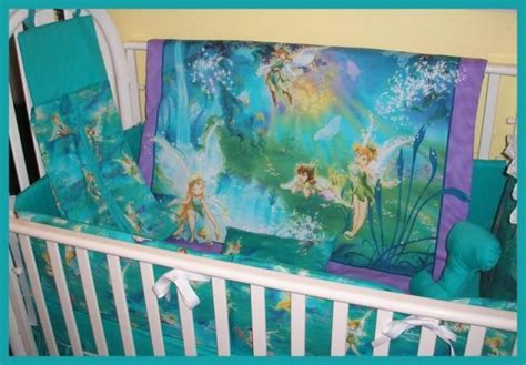 tinkerbell crib bedding sets pin by perrault on for my baby