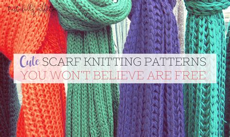 won knitting scarf knitting patterns you won t believe are free