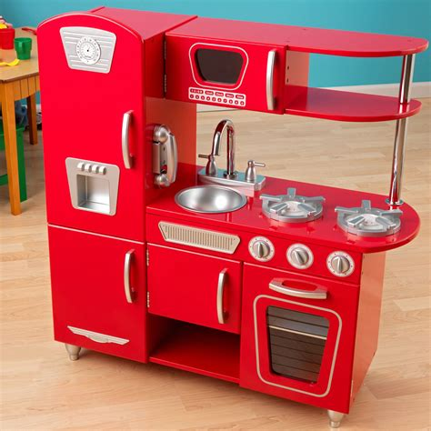 kid craft vintage kitchen kidkraft vintage play kitchen 53173 play kitchens