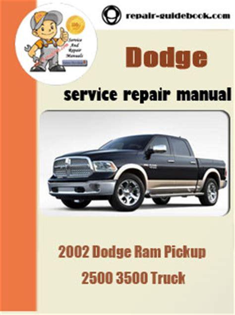 car repair manuals online free 2002 dodge ram 1500 security system 2002 dodge ram pickup 2500 3500 truck workshop service repair pdf manual pdf download