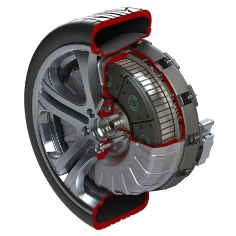 In Wheel Electric Motor by Charged Evs In Wheel House Protean Electric S In Wheel