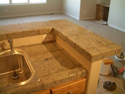 Laminate Kitchen Counters by Granite Tile Kitchen Countertop And Bar