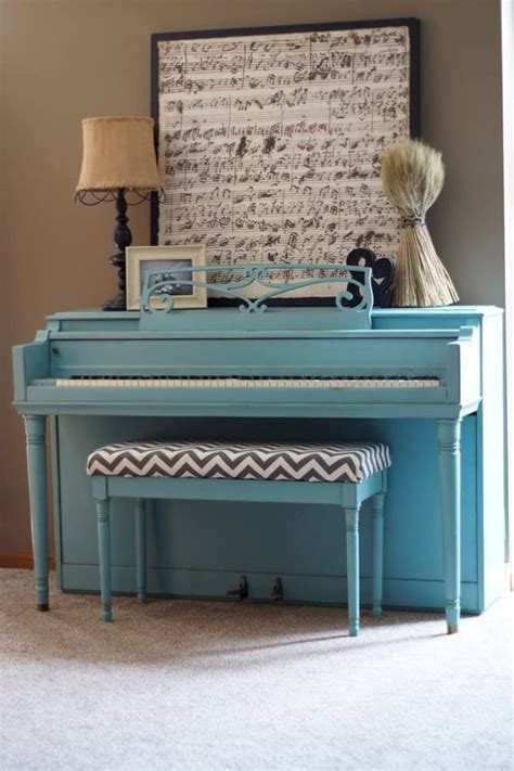 chalk paint piano painted piano sloan chalk paint provence with