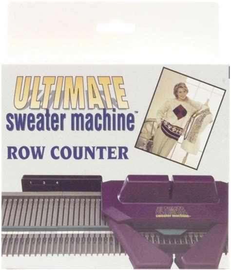 ultimate knitting machine the ultimate sweater machine row counter jo