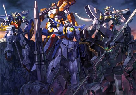 Gundam Wing Wallpaper 237895