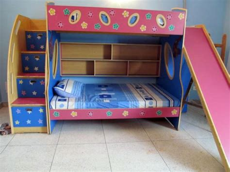 bunk beds with stairs and slide bunk bed with stairs