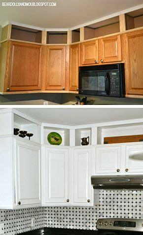 space above kitchen cabinets ideas 38 adding storage above kitchen cabinets remodelando la casa closing the space above the