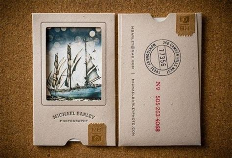 cool card ideas 40 cool business card ideas for photographers bored