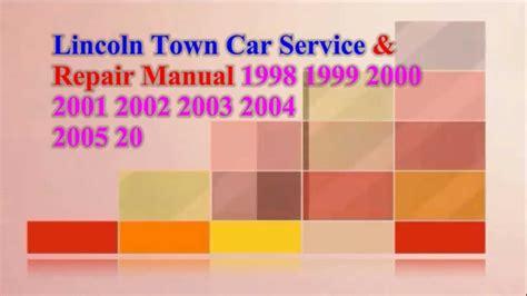 service manual auto repair manual online 2003 lincoln blackwood regenerative braking service lincoln town car service repair manual 2009 2008 2007 2007 2006 2000 youtube