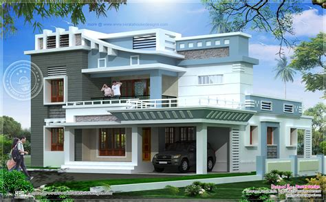 house exterior designs 2547 square exterior home elevation home kerala plans