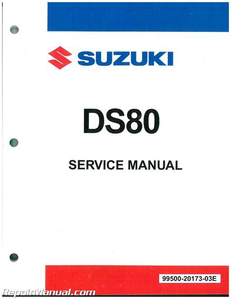 2000 Suzuki Ds80 by 1981 2000 Suzuki Ds80 Motorcycle Service Manual