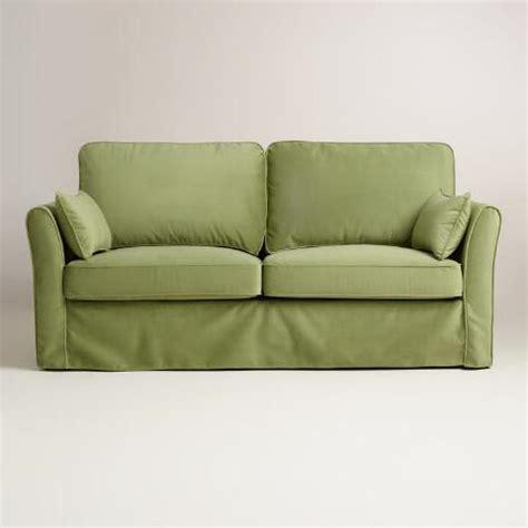 green sofa slipcover green sofa slipcover centerfieldbar
