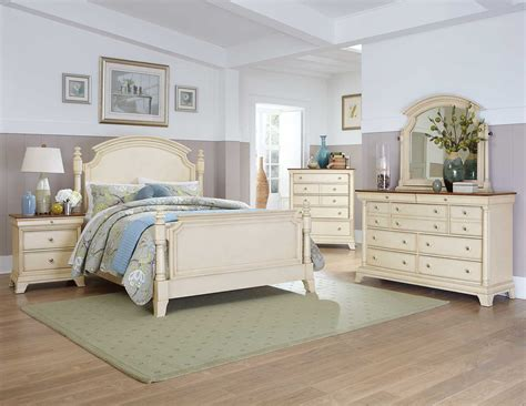 bedroom furniture white homelegance inglewood ii bedroom set white b1402w bed