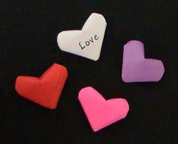 mini origami hearts lucky