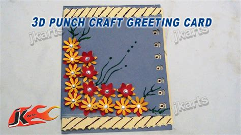 make a new year greeting card card invitation design ideas diy easy punch craft