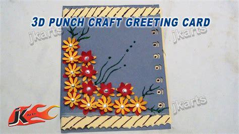 craft greeting card card invitation design ideas diy easy punch craft