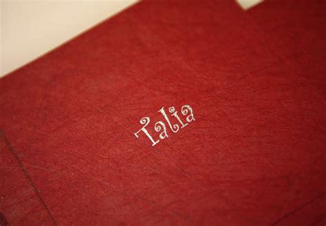 embossed craft paper embossing debossing foil printing fast service