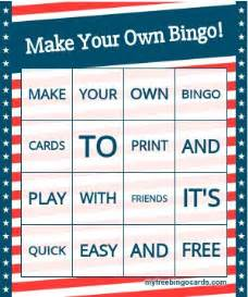 make your own printable card 25 best ideas about bingo card generator on