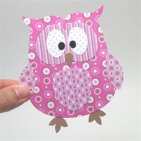 owl craft paper paper owl craft paper crafts