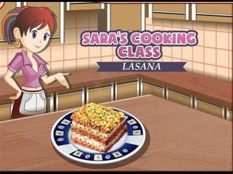 guegos de cocina con sara lasa 241 a juegos de cocina con sara youtube