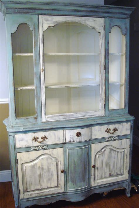 chalk paint hutch whimsical perspective a whimsical makeover the hutch edition