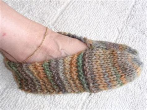 easy knitted slippers for beginners free knitting slipper patterns free patterns