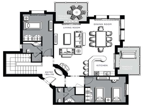 architectural plan architecture floor plans interior4you