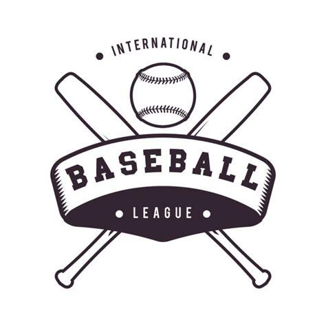baseball logo template design vector free download