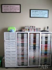 organizing craft paper 25 best ideas about craft room organizing on