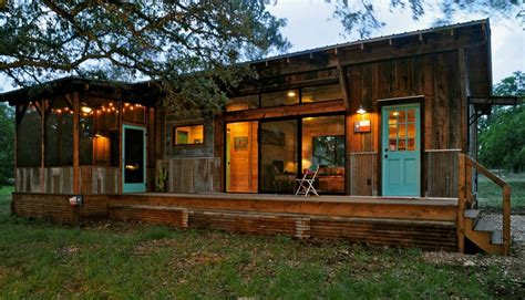 tiny house cabin beautiful reclaimed cabin with modern comforts tiny