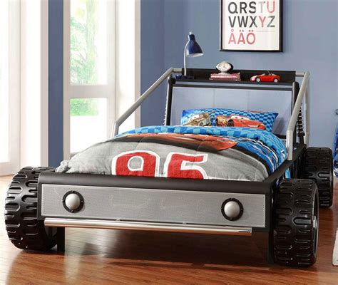 race car bedroom furniture silver race car bed bedroom