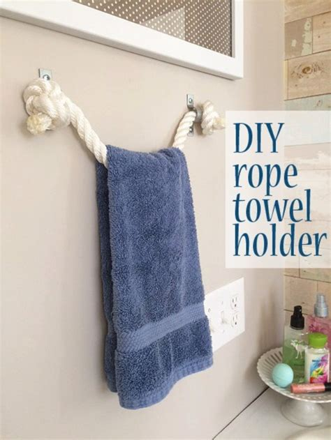 bathroom towel holder ideas 31 brilliant diy decor ideas for your bathroom page 3 of